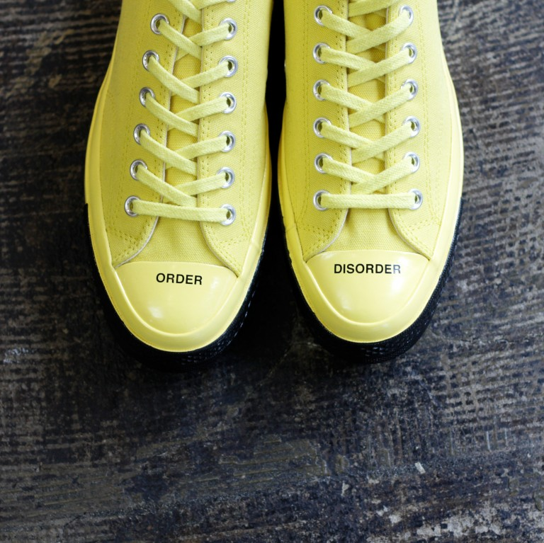 "CONVERSE × UNDERCOVER Chuck Taylor All Star 70′s OX Low ""BUTTERCUP"""