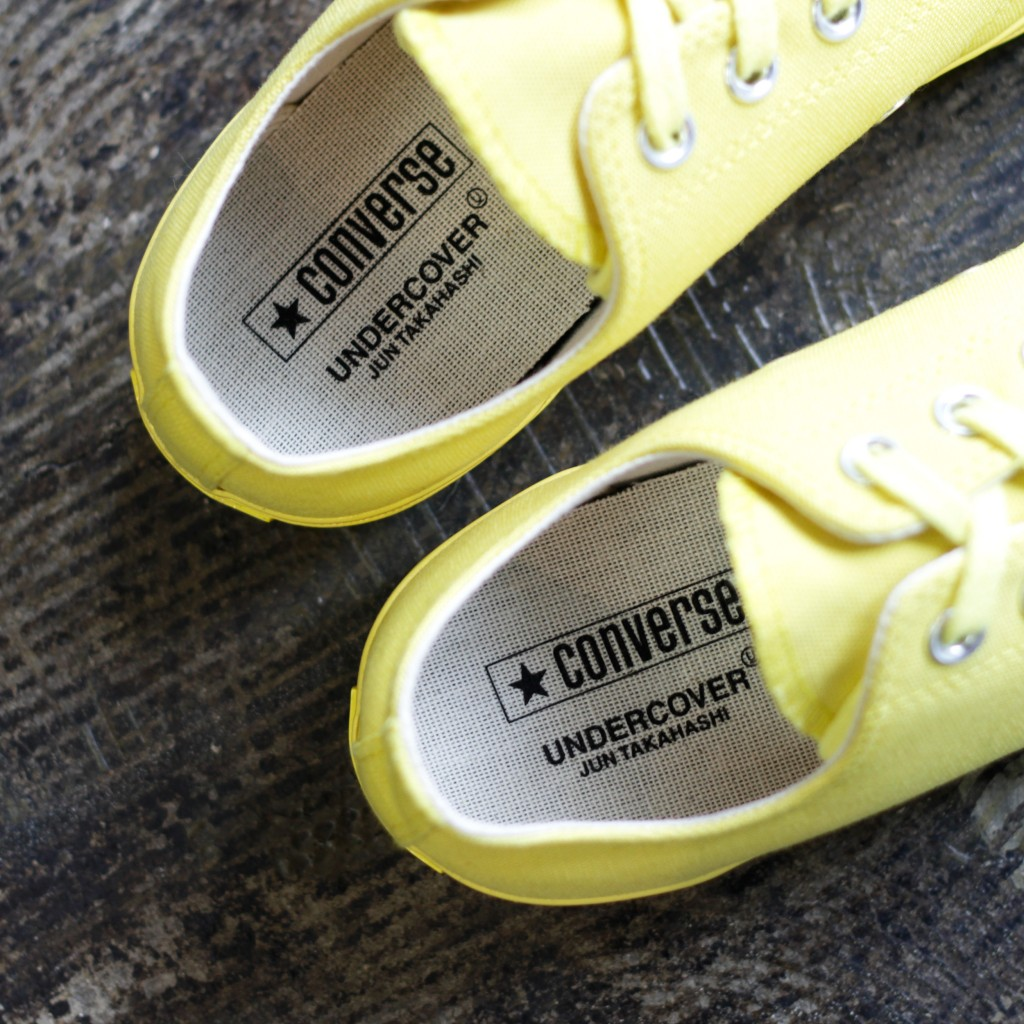 "CONVERSE × UNDERCOVER Chuck Taylor All Star 70's OX Low ""BUTTERCUP"""