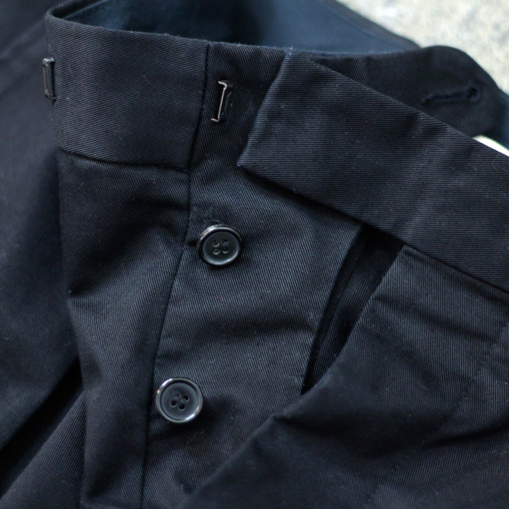 MARNI Tuck Cotton Pants