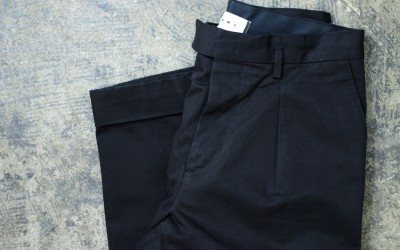 MARNI Tuck Cotton Pants
