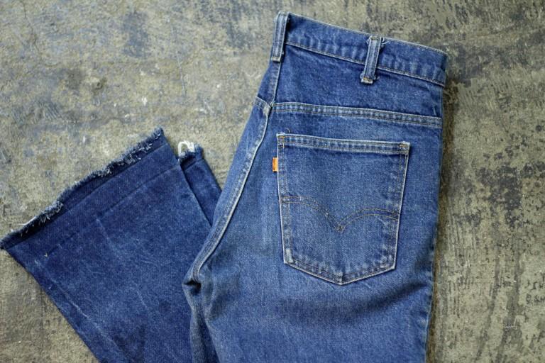 Levi's Vintage 646 70′s Cut Off Denim
