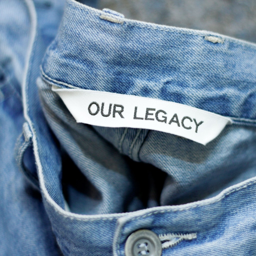 OUR LEGACY Commando Denim Trousers