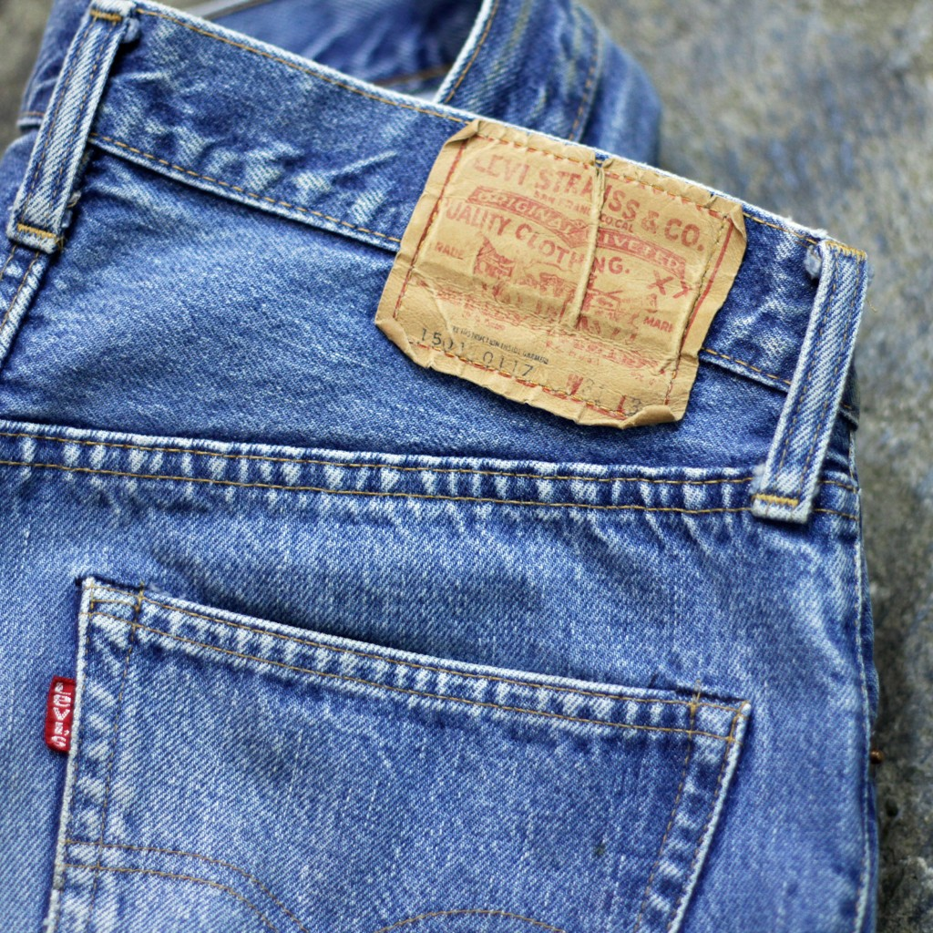 Levi's Vintage 501 66 Chain Stitch Denim