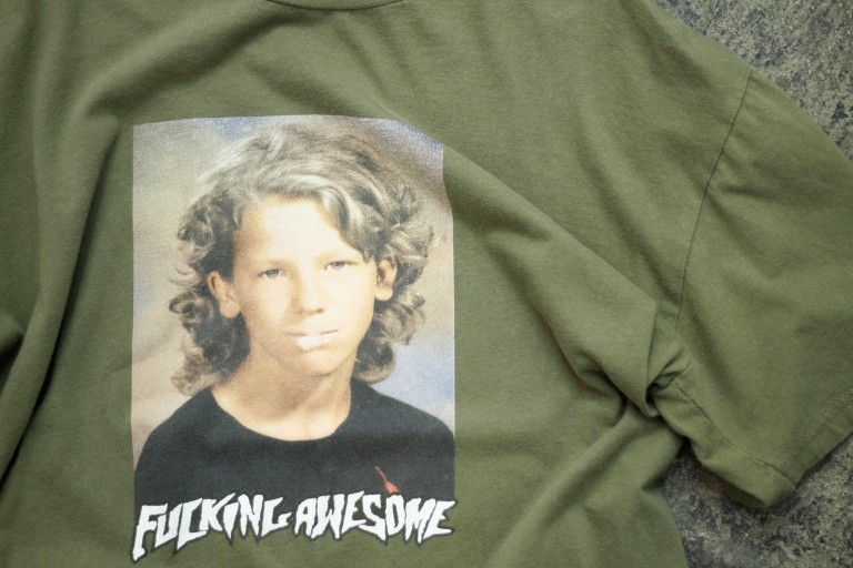 "FUCKING AWESOME ""Jason Dill"" Class Photo T-Shirt"