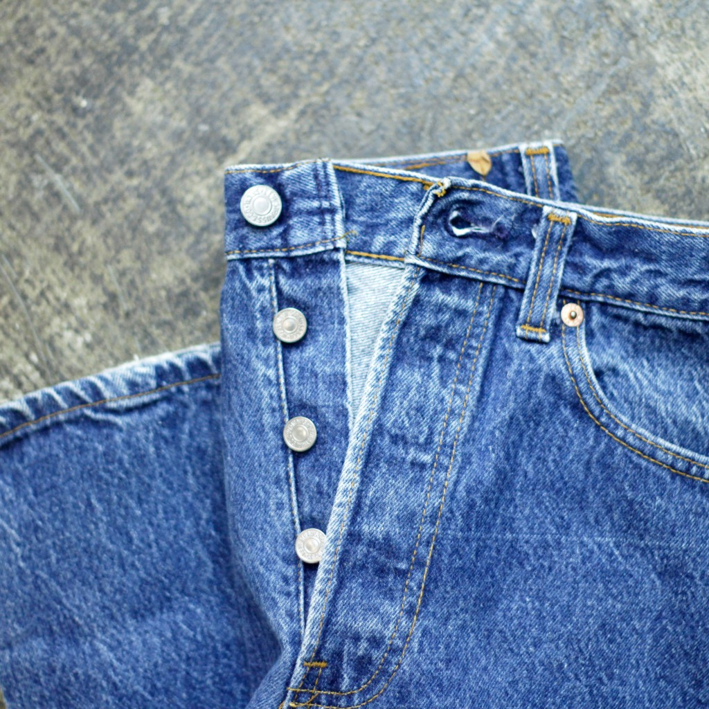 "Levi's Vintage 501 80′s Denim Pants ""Made in U.S.A"""