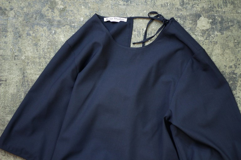 Acne Studios Back Open Pull Over Shirt