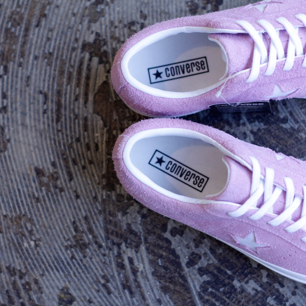 """CONVERSE ONE STAR SUEDE """"LIGHT ORCHID"""""""