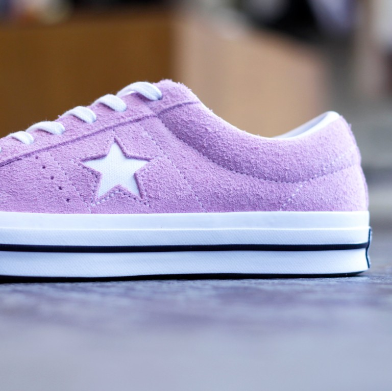 "CONVERSE ONE STAR OX SUEDE ""LIGHT ORCHID"""
