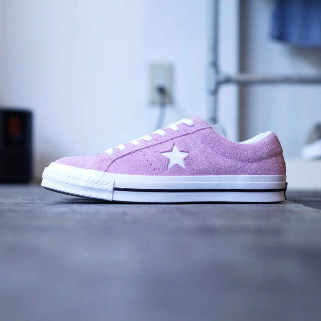 "CONVERSE ONE STAR SUEDE ""LIGHT ORCHID"""