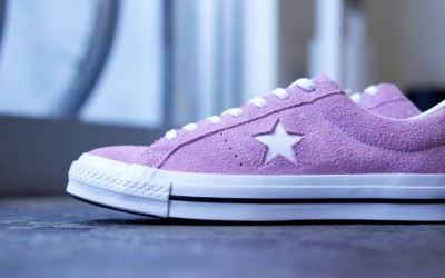 """CONVERSE ONE STAR OX SUEDE """"LIGHT ORCHID"""""""
