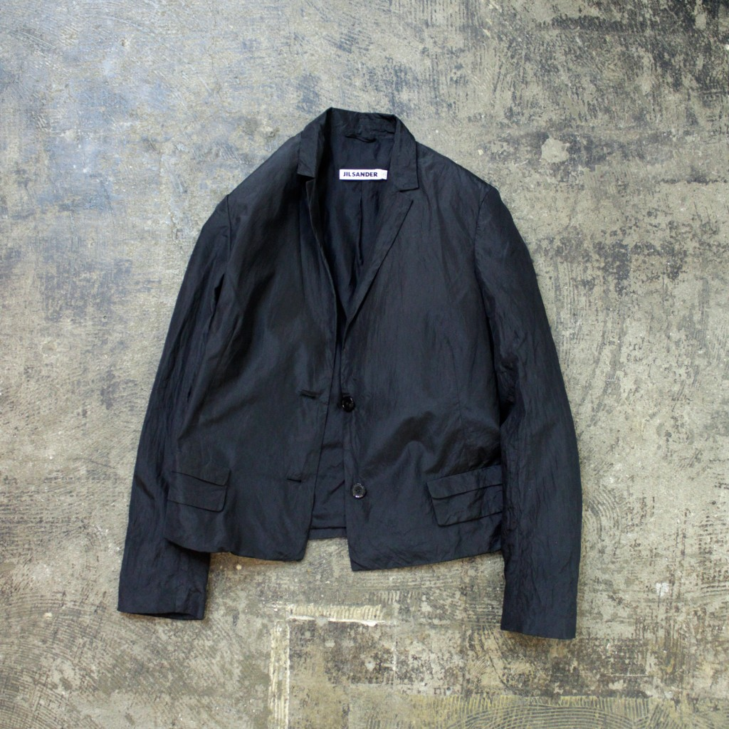 JIL SANDER Silk Tailored Jacket