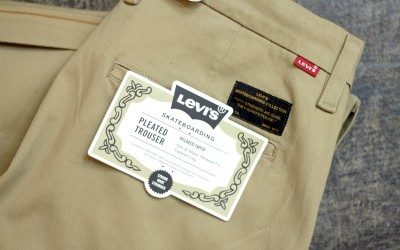 "LEVI'S SKATEBOARDING Pleated Trouser ""Relaxed Taper"""