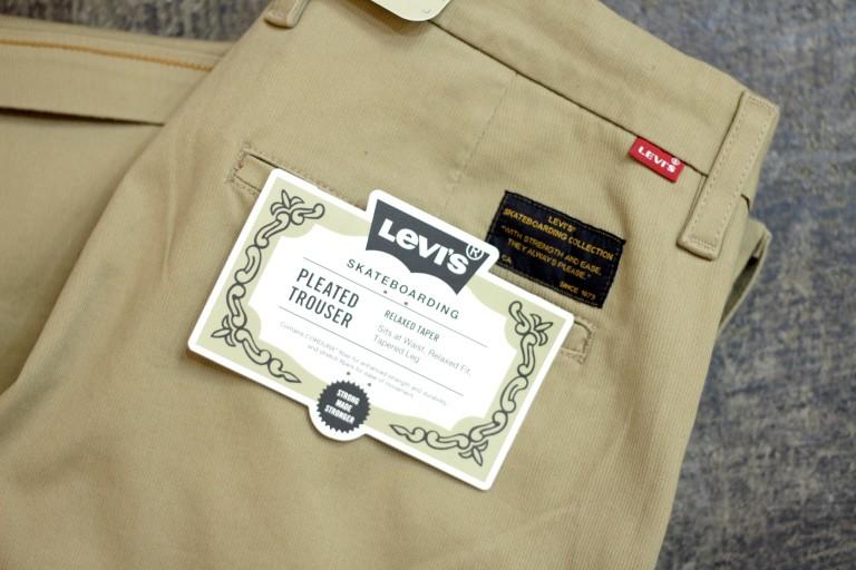 """LEVI'S SKATEBOARDING Pleated Trouser """"Relaxed Taper"""""""