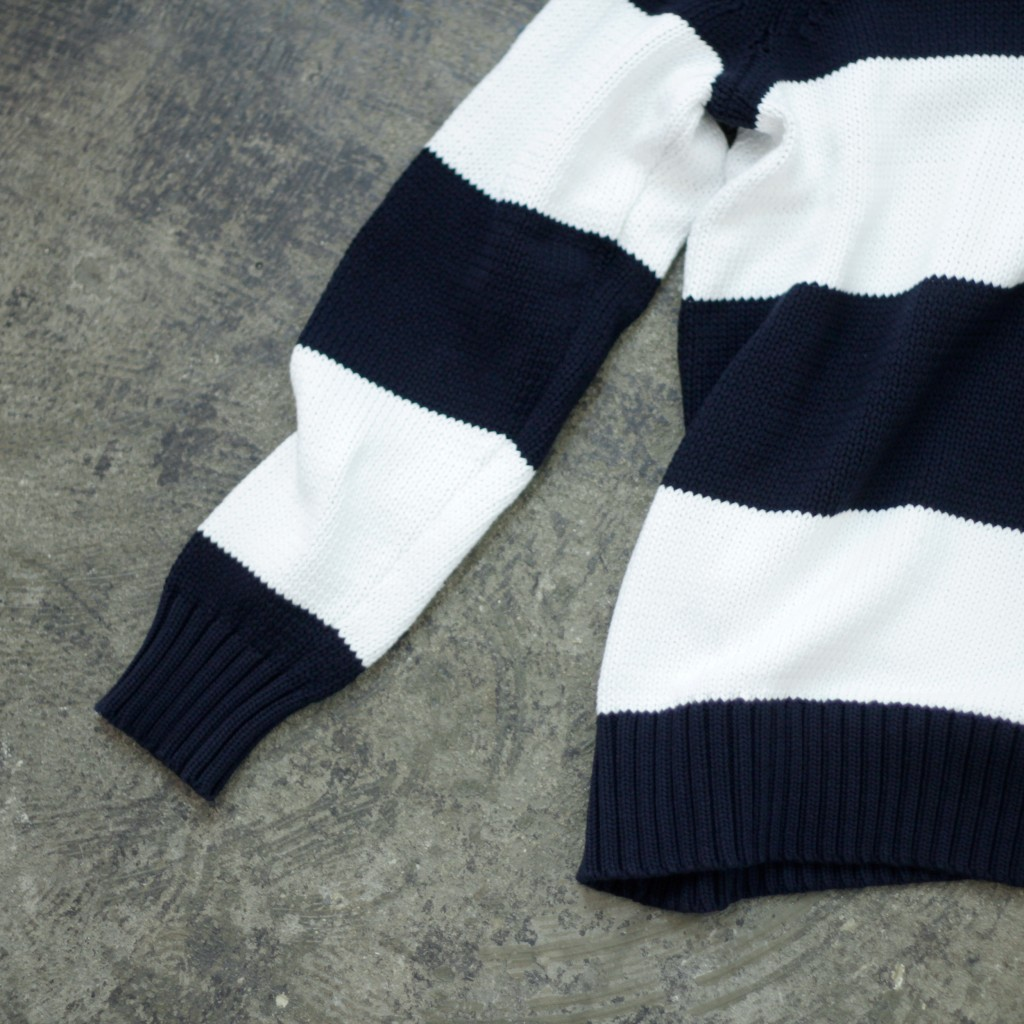 rag & bone Border Cottton knit