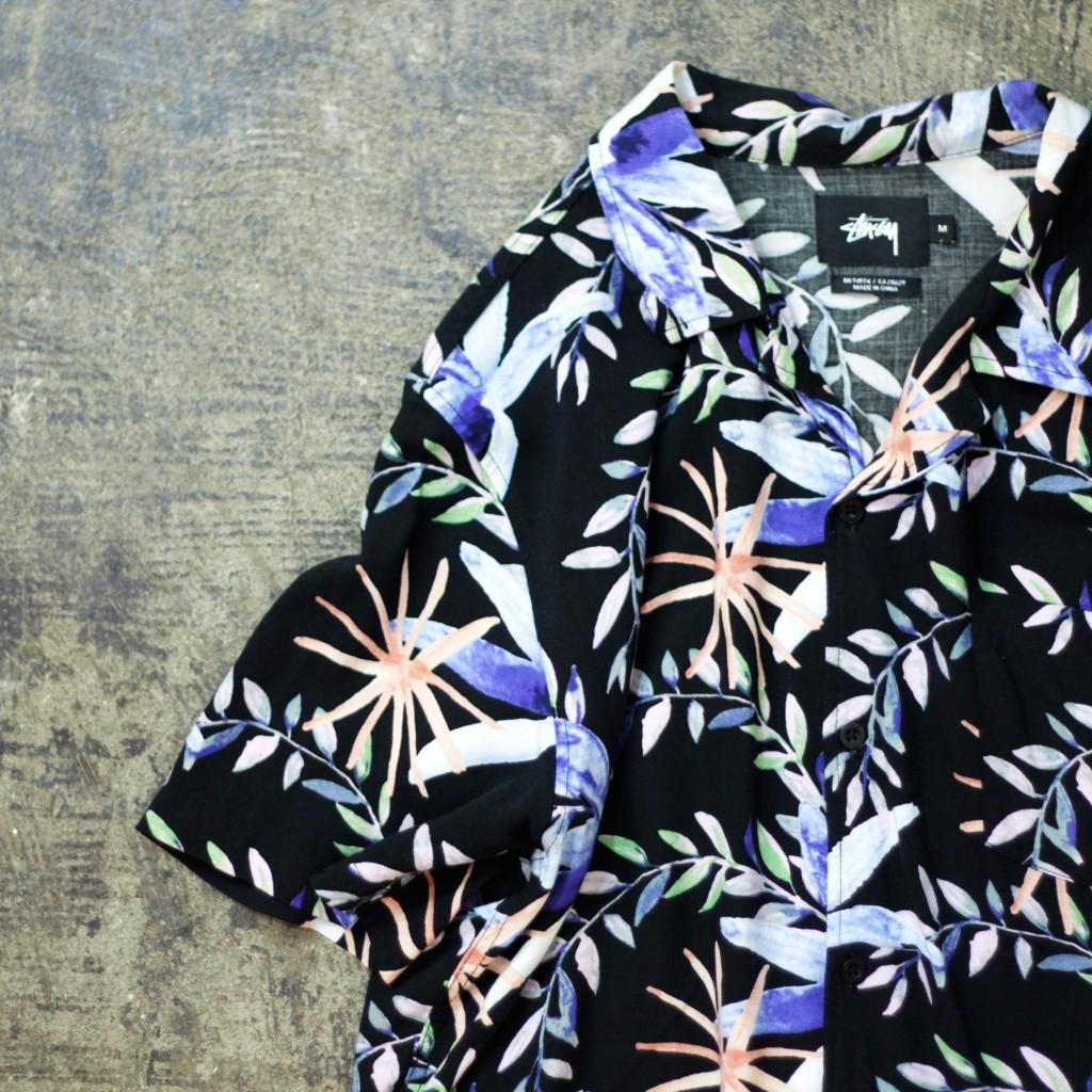 STUSSY S/S Rayon Shirt