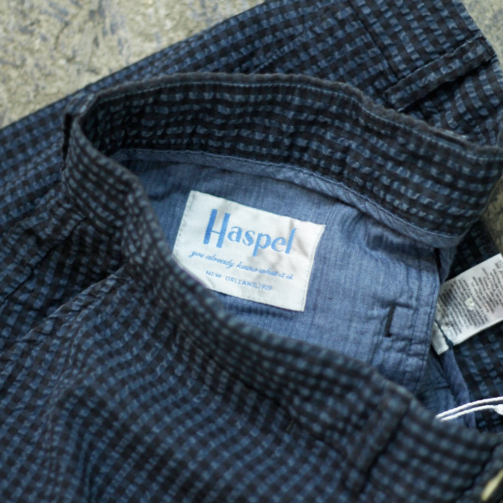Haspel Sear Sucker Stripe Shorts
