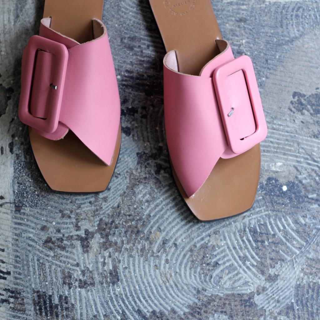 ATP ATELIER Belted Sandal