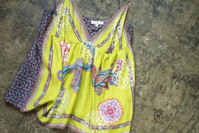 ETRO Silk Scarf Camisole