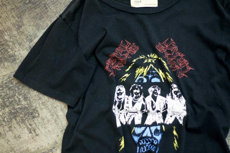 TOGA PULLA Metal Print T-Shirts
