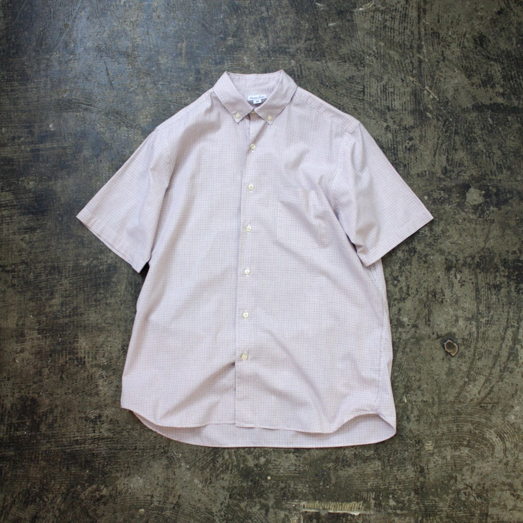 steven alan S/S Graph Check Shirt