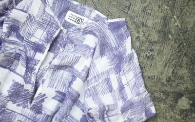 MM⑥ Painted Print Shirt