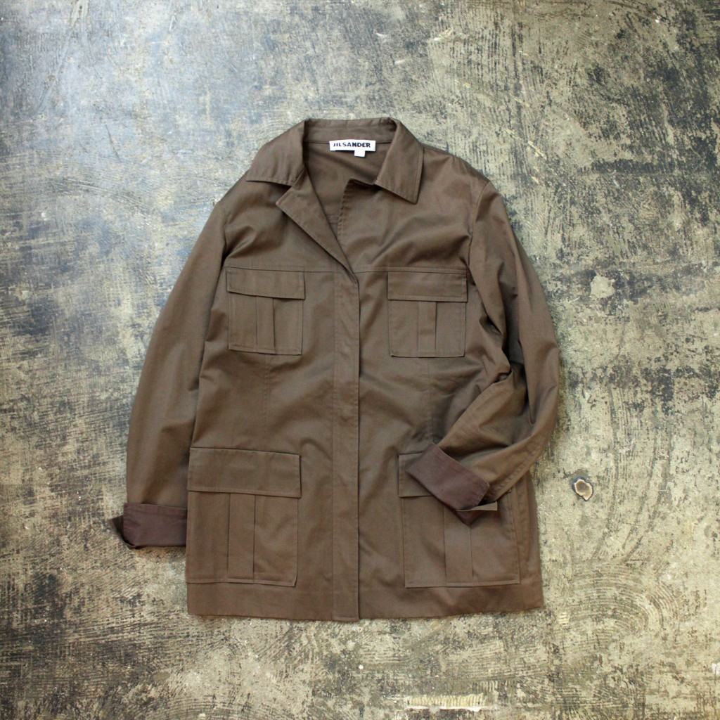 JIL SANDER Military Work Jacket