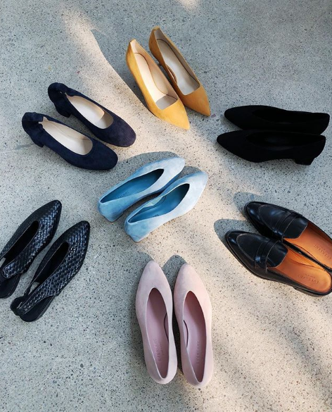 EVERLANE Block Heel Pumps