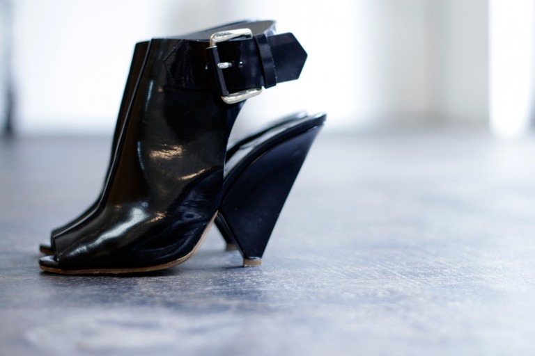 Chloé Belted Patent Leather Shoes