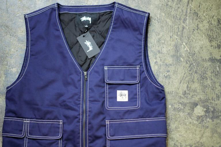 STUSSY Cotton Work Vest