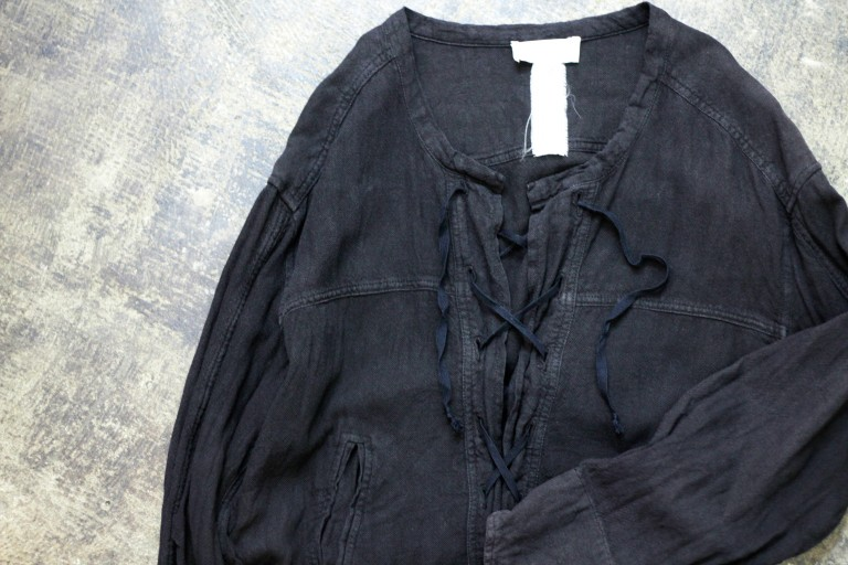 ISABEL MARANT ÉTOILE Lace Up Tunic Shirt