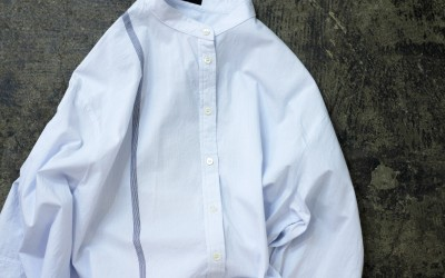 JOSEPH Stand-Collar Line Shirts