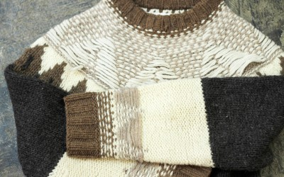 Martin Margiela × H&M 'RE-ASSEMBLED' FAIR ISLE SWEATER Autumn-Winter 2004/2005