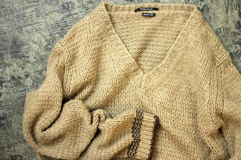 PRADA V-Line Knit