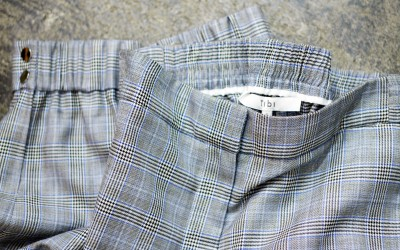 Tibi Glen-Check Pants