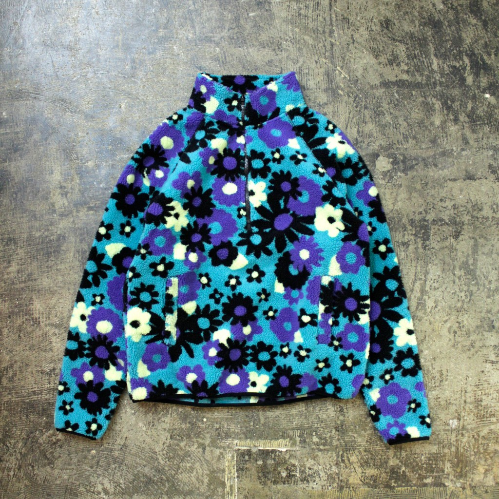 URBAN OUTFITTERS 'Flower' Fleece Pullover