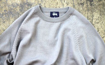 OLD STUSSY Crew Neck Knit
