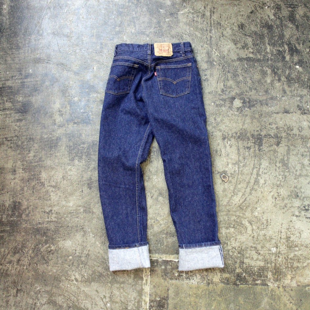 Levi's 501 80′s Denim Made in USA
