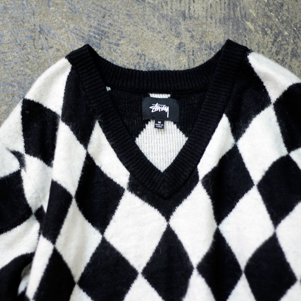 STUSSY Argyle Knit