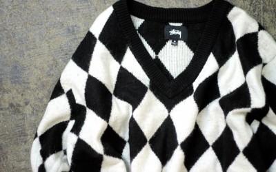 STUSSY Argyle Sweater