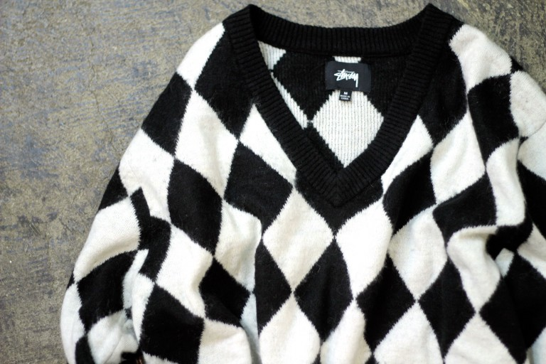 STUSSY Argyle Sweater