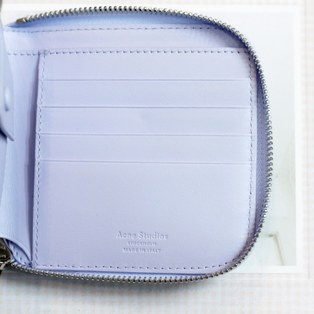 Acne Studios Medium Zip Wallet