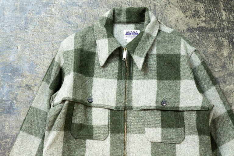 AMANA Vintage Flannel Check Jacket