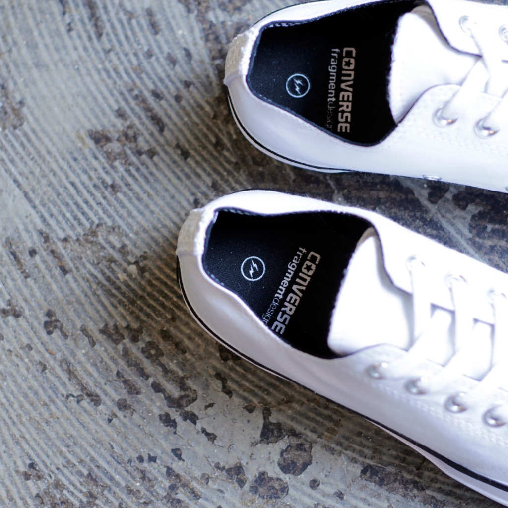 CONVERSE × fragment design CHUCK TAYLOR ALL STAR 70 TUXEDO