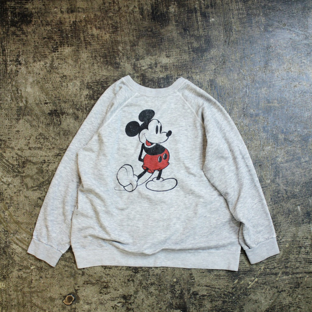 Walt Disney 80's 'Mickey Mouse' Marbling Sweat