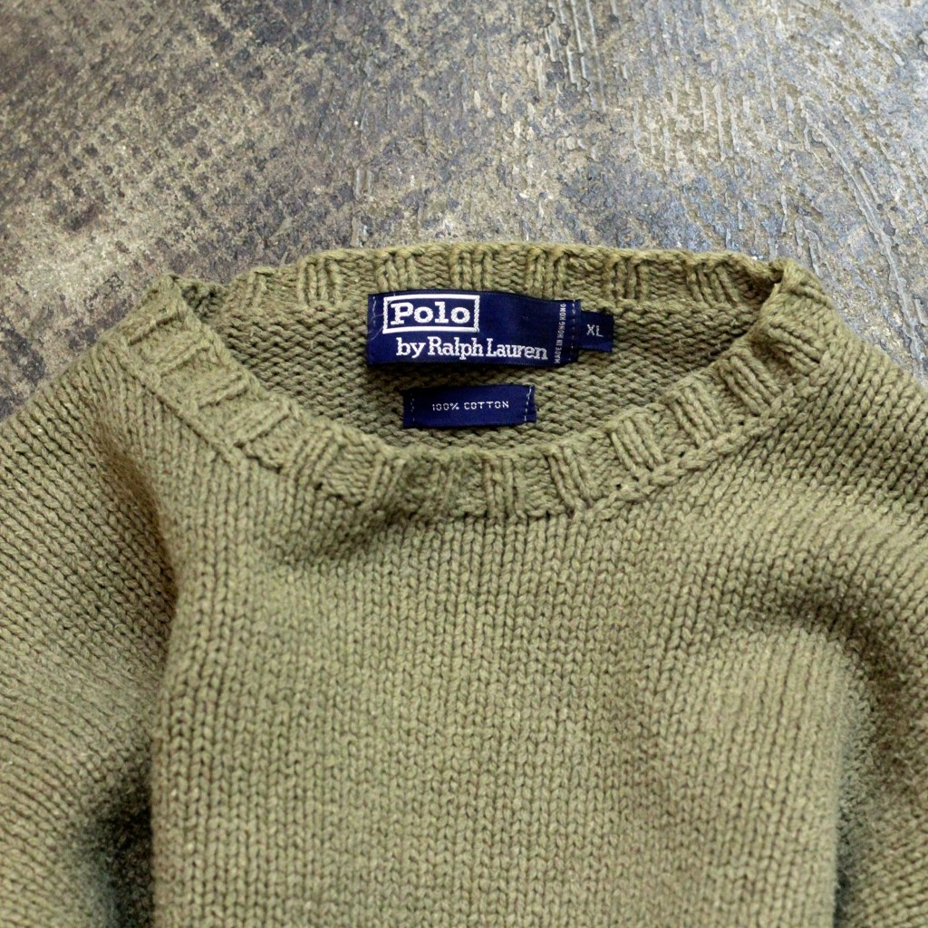 POLO by Ralph Lauren 90's Heavy Cotton Knit