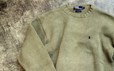 POLO by Ralph Lauren 90′s Heavy Cotton Knit