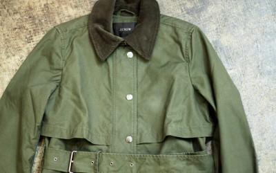 J.CREW Hunting Long Coat
