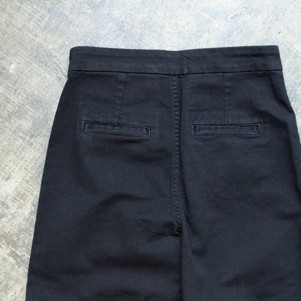 & Other Stories High Waisted Black Jeans