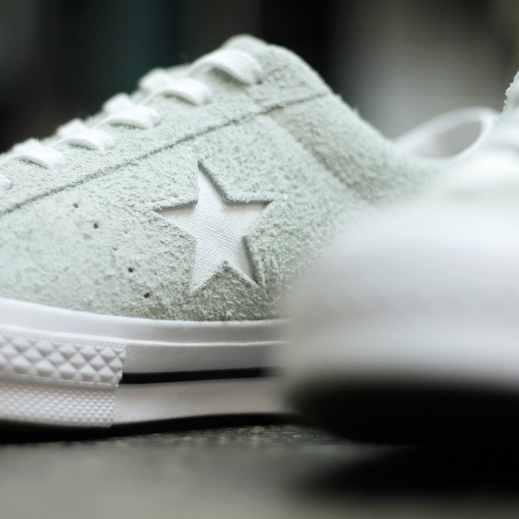 "CONVERSE ONE STAR OX SUEDE ""Dried Bamboo"""