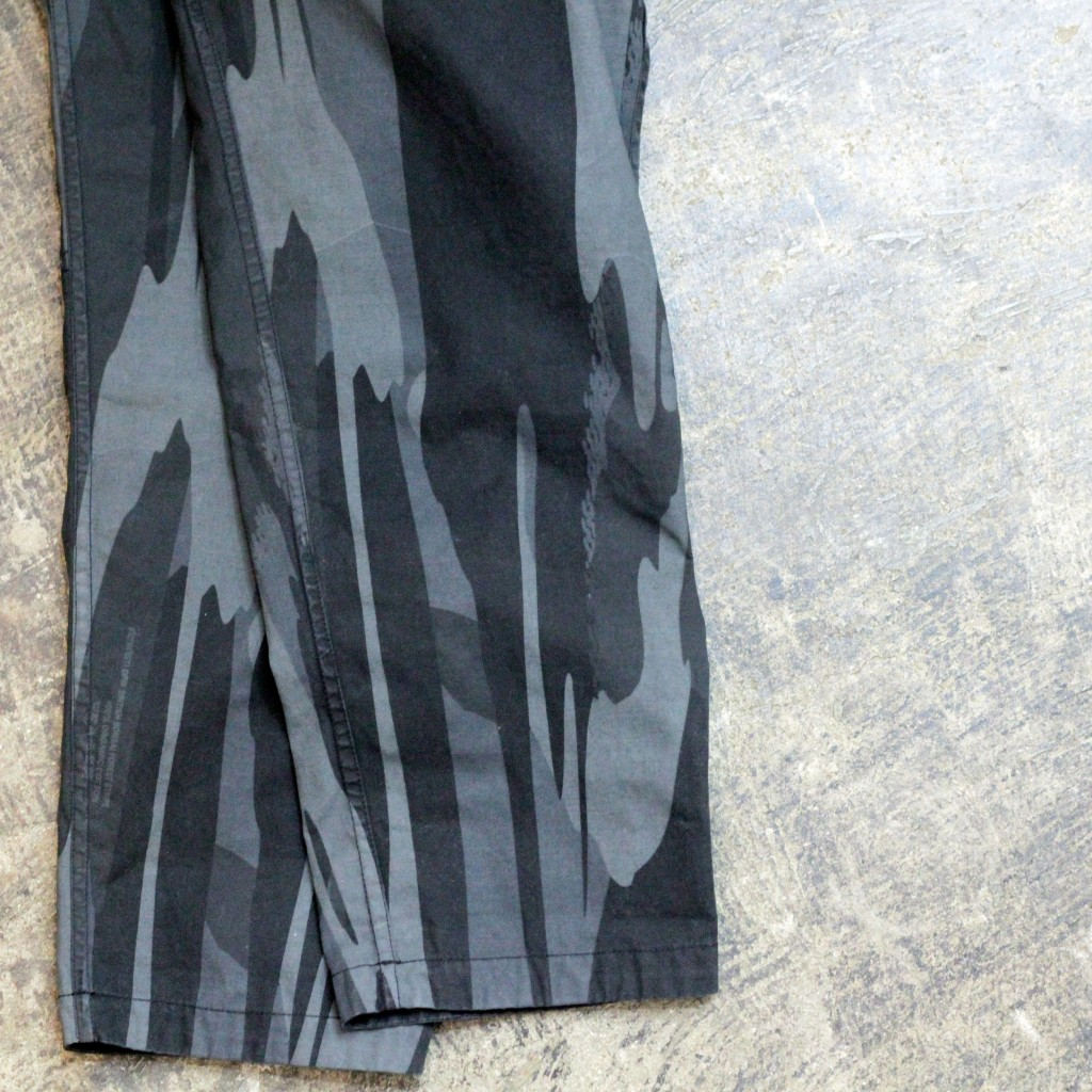 "MAHARISHI DPM ""British Bonsai Forest Stripe"" Reversible Pants"